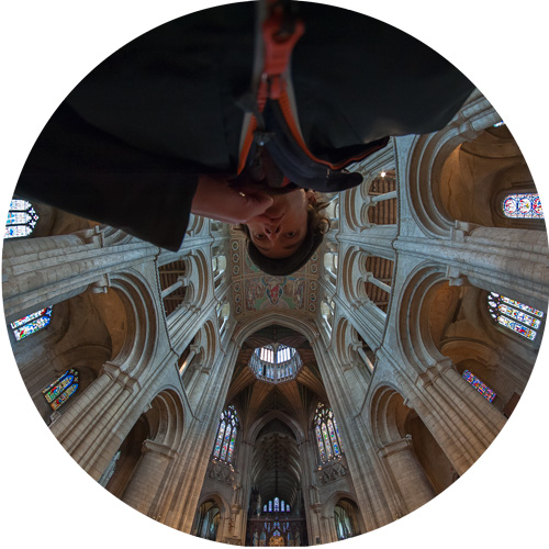 Self-portrait, The Cathedral (K)nave, Ely Cathedral © Samuel Mather Photography