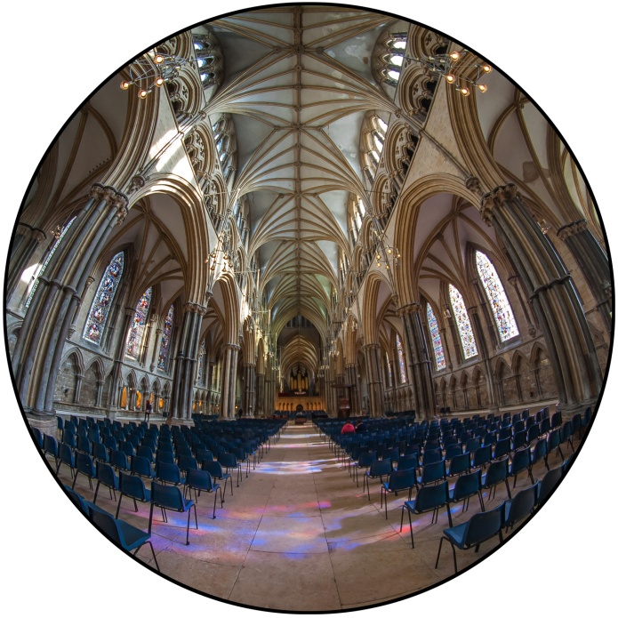 Lincoln Cathedral nave © Samuel Mather Photography